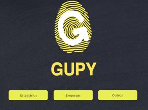 Primeiro logotipo da Gupy
