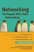 Imagem de capa do livro 'networking for people who hate networking', de Devora Zack sobre networking do RH