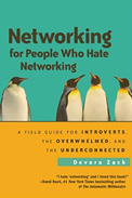 Imagem de capa do livro 'networking for people who hate networking', de Devora Zack sobre networking do RH