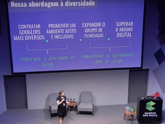 Imagem da palestrante Monica Santos, sobre uma das 5 melhores palestras do HR4results