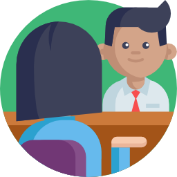 Imagem de duas pessoa conversando, representando avaliacao de desempenho