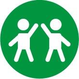 ícone de um desenho representando o big 5 e o conceito de Acomodação
