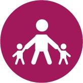 ícone de um desenho representando o big 5 e o conceito de consolidação