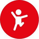 ícone de um desenho representando o big 5 e o conceito de extroversão