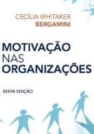 Capa do livro motivação nas organizações, sobre livros de gestão de pessoas