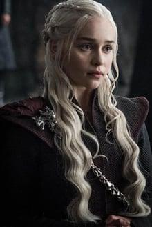 Imagem da personagem daenerys Targaryen, da série game of thrones
