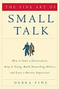 Imagem de capa do livro 'saber conversar', de Debra Fine sobre networking do RH