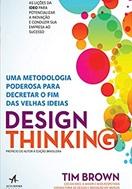 imagem da capa do livro design thinking representando livros para rh