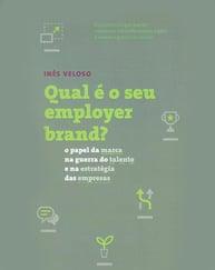 Capa do livro qual é o seu employer brand, representando a lista de livros de palestrantes do HR4results