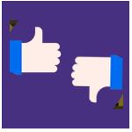 Imagem do feedback do candidato, representando as vantagens do processo seletivo digital