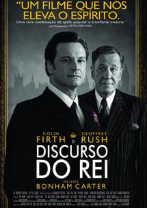 Cartaz do filme discurso do rei, sobre o tema gestao de pessoas
