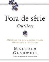 Capa do livro fora de série: outliers, representando a lista de livros de palestrantes do HR4results