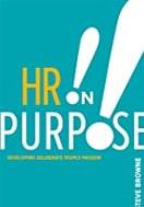 Capa do livro HR on purpose, sobre livros de gestão de pessoas