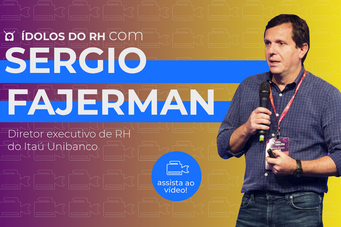 Imagem de Sergio Fajerman, entrevistado do Ídolos do RH