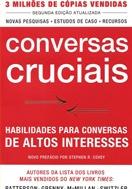 imagem da capa do livro conversas cruciais representando livros para rh