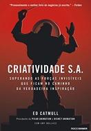 Imagem da capa do livro Criatividade S/A representando livros para rh