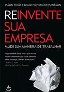 Imagem da capa do livro Reinvente sua Empresa representando livros para rh
