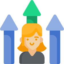 Imagem de uma pessoa, representando a importância da gestão por competência