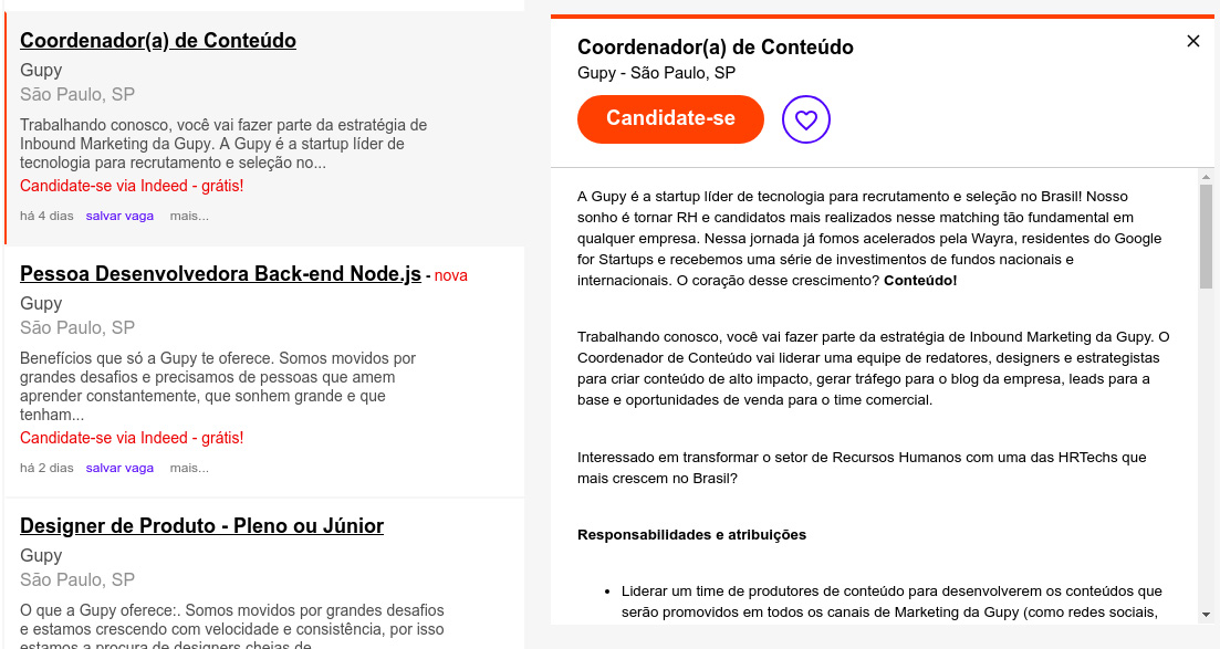 Imagem do Job board indeed