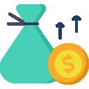 Imagem estilizada de indicadores financeiros