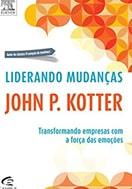 Capa do livro liderando mudanças, sobre livros de gestão de pessoas