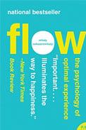 Imagem da capa do livro Flow, de Mihaly Csikszentmihalyi, sobre livros de rh indispensáveis