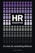 """Capa do Livro """"Rh Disruptivo"""" sobre o futuro do RH"""