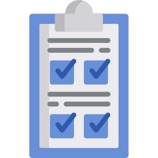 Imagem de um checklist, representando o modelo de gestão por competência