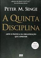 imagem da capa do livro A quinta disciplina representando livros para rh