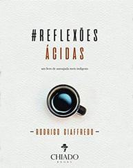 Capa do livro reflexões ácidas, representando a lista de livros de palestrantes do HR4results