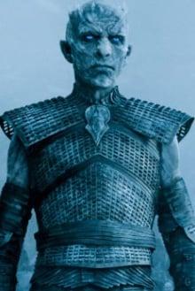Imagem do personagem rei da noite, da série game of thrones