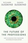 """Capa do Livro """"O futuro das profissões"""" sobre o futuro do RH"""