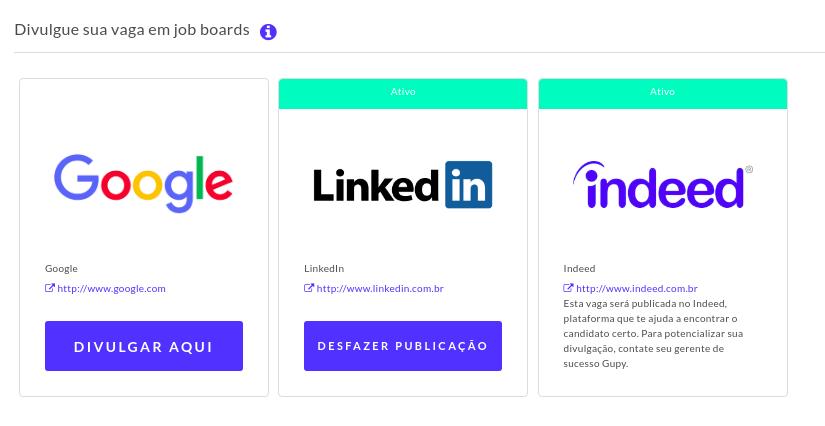 Imagem de como o usuário pode utilizar os job boards com a gupy