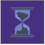 Imagem do tempo, representando as vantagens do processo seletivo digital