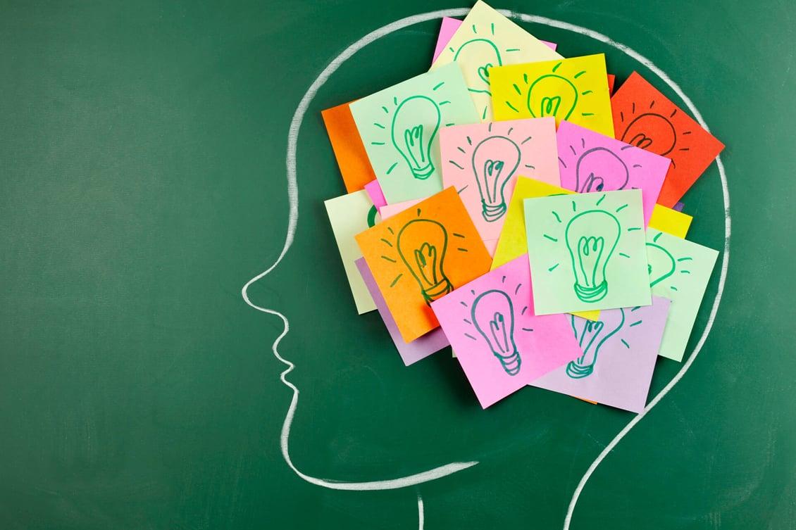 imagem de uma cabeça, representando o teste raciocínio lógico para recrutamento e seleção