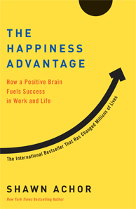 Imagem da capa do livro the happiness advantage