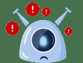Imagem da mascote da gupy sobre recursos humanos