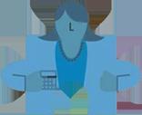 imagem de uma pessoa em formato de quebra-cabeça, representando o turnover e fit cultural