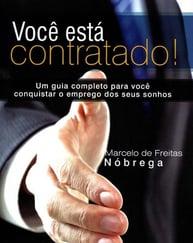 Capa do livro você está contratado, representando a lista de livros de palestrantes do HR4results
