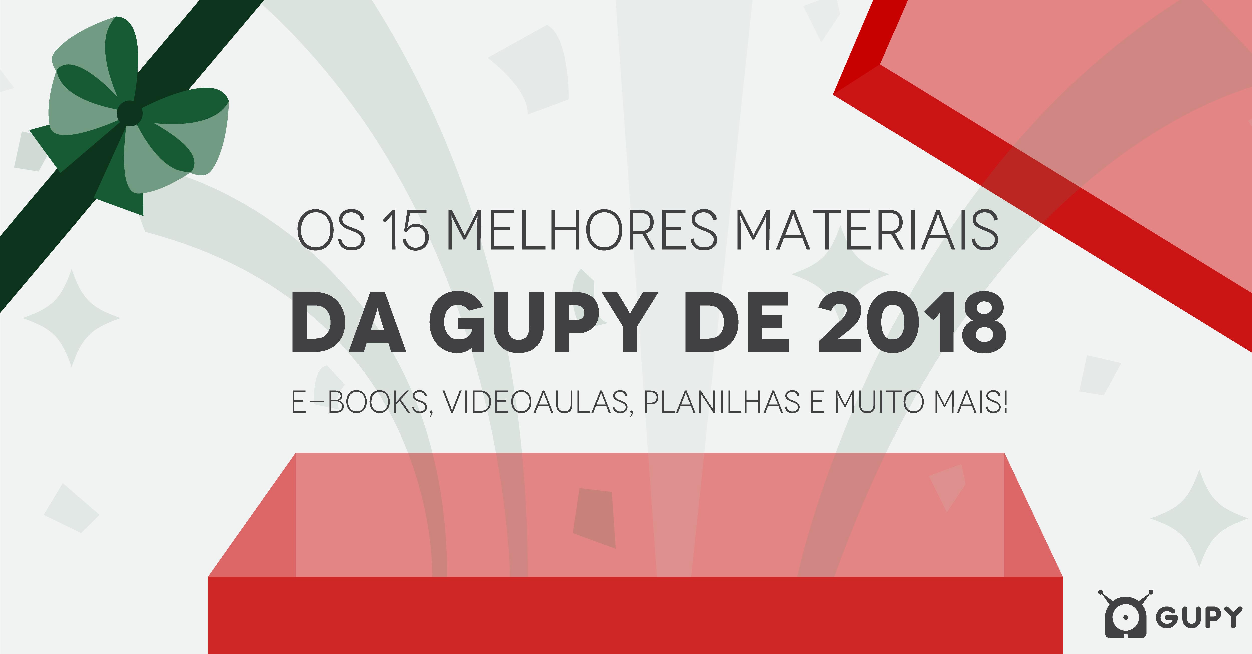 Material 15 melhores materiais da Gupy