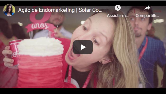 Clique para ver o vídeo da Ação de Endomarketing da Solar Coca-Cola
