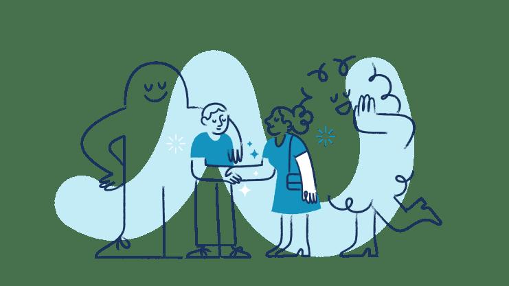 Ilustração Gupy para Candidatos