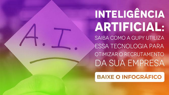 Material Infográfico Inteligencia artificial Gupy