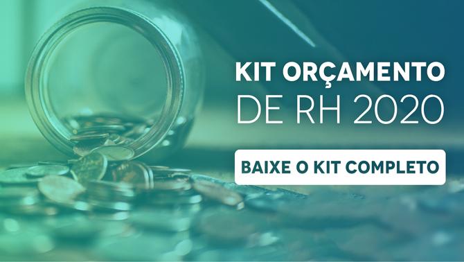 Material Kit Orçamento de RH 2020