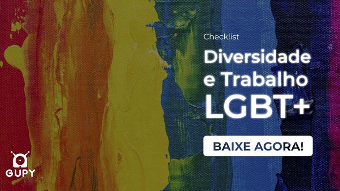 Material Checklist Diversidade e trabalho LGBT+